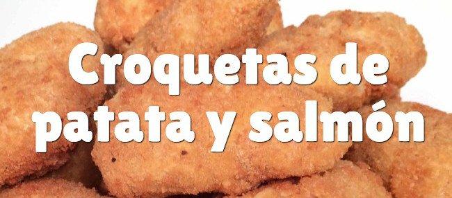 Croquetas de patata y salmón